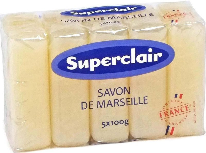 Marseille glycerine zeepstukken 60x100g