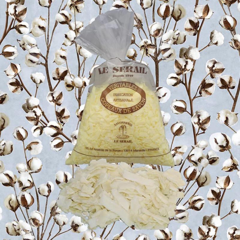 Marseille Seifenflocken Baumwollblume 12 kg
