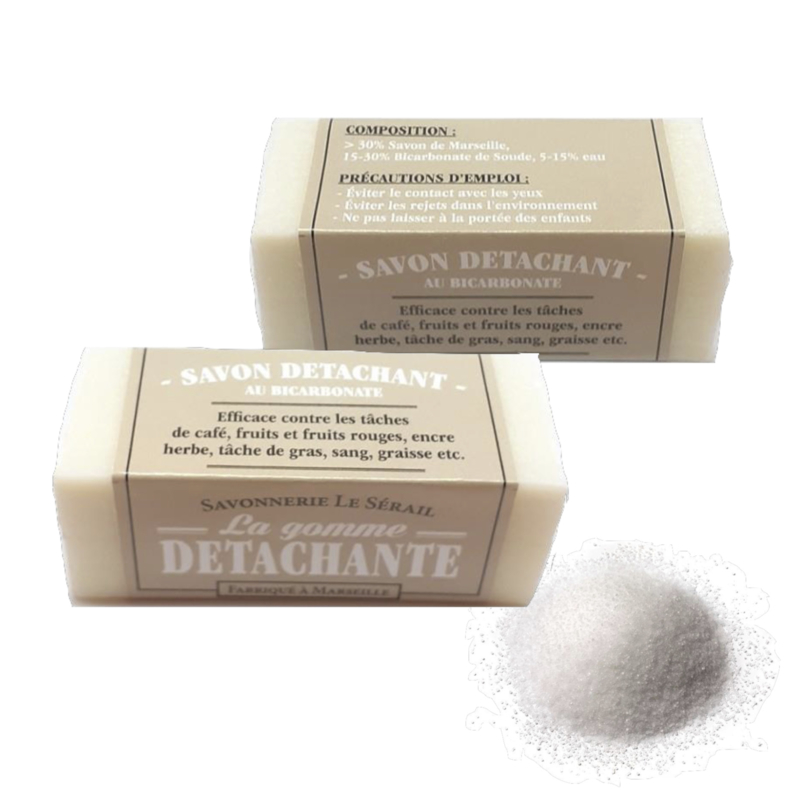 Soap with sodium bicarbonate 160 x 80gr