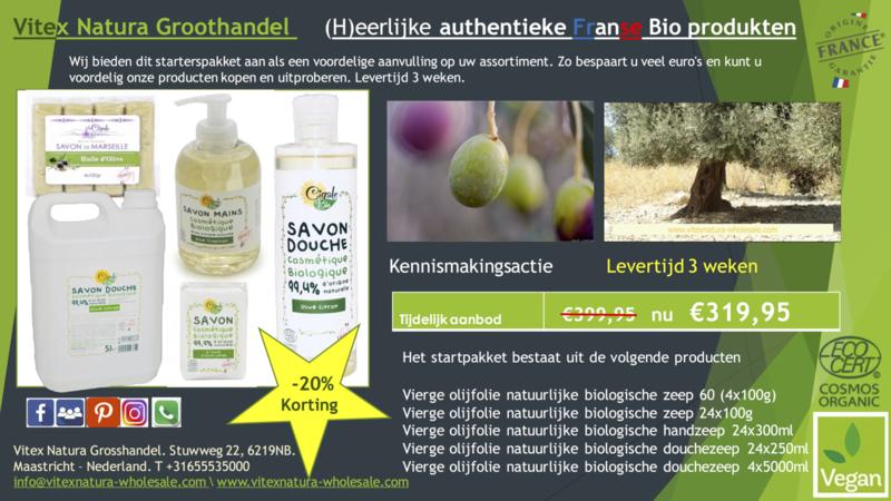 Biologische olijfolieproducten