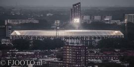 Feyenoord stadion 20 (Canvas 2cm frame)