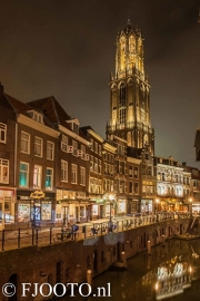 Utrecht Domtoren 11 (Canvas 4cm)