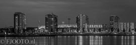 Feyenoord stadion 14 (Canvas 2cm frame)