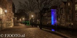 Dordrecht Pottenkade panorama (Canvas 4cm)