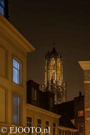 Utrecht Domtoren 16 (Canvas 4cm)