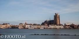 Dordrecht rivierzicht 15 (Canvas 4cm)