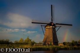 Kinderdijk regenboog (Xpozer)