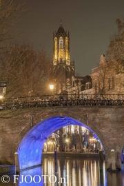 Utrecht Domtoren 10 (Canvas 4cm)