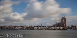 Dordrecht rivierzicht 3 (Canvas 4cm)