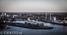 Rotterdam skyline panorama 4 (Canvas 4cm)