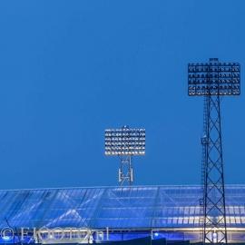 Feyenoord stadion 15 (Canvas 2cm frame)