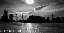Rotterdam skyline panorama 7 (Dibond)