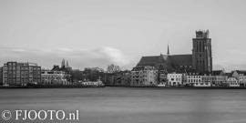 Dordrecht rivierzicht 13 (Canvas 4cm)
