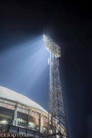 Feyenoord stadion 45 (Canvas 2cm frame)