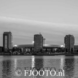 Feyenoord stadion 23 (Canvas 2cm frame)