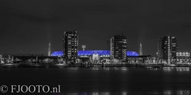 Feyenoord stadion 30 (Canvas 2cm frame)