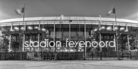 Feyenoord stadion 43 (Canvas 2 cm frame)