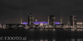 Feyenoord stadion 29 (Canvas 2cm frame)