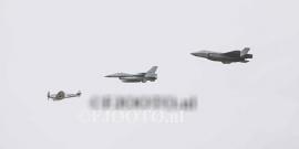 Spitfire - F-16 - JSF (2) (Canvas 2cm)