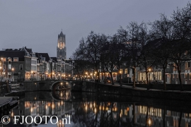 Utrecht Domtoren 20 (Canvas 4 cm)