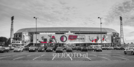 Feyenoord stadion 36 (Canvas 2cm frame)