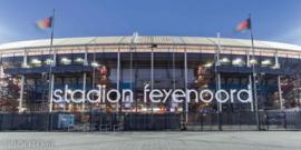 Feyenoord stadion 42 (Canvas 2cm frame)