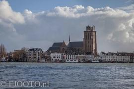 Dordrecht rivierzicht 5 (Canvas 4cm)