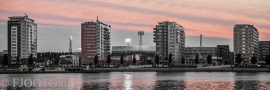 Feyenoord stadion 22 (Canvas 2cm frame)