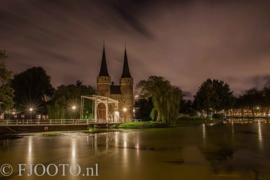 Delft Oostpoort 6 (Canvas 4cm)