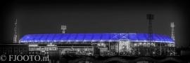 Feyenoord stadion 25 (Canvas 4cm)