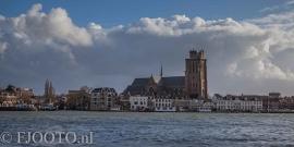 Dordrecht rivierzicht 4 (Canvas 4cm)