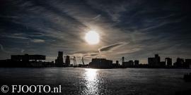 Rotterdam skyline panorama 6 (Canvas 4 cm)