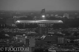 Feyenoord stadion 18 (Canvas 2cm frame)