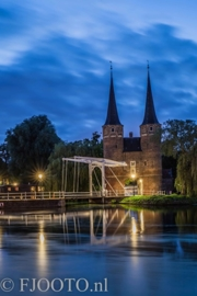 Delft Oostpoort 2 (Dibond)