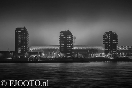 Feyenoord stadion 2 (Canvas 2cm frame)