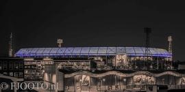 Feyenoord stadion 27 (Canvas 2cm frame)