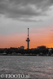 Rotterdam skyline 3 (Canvas 4cm)