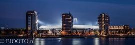Feyenoord stadion 21 (Canvas 2cm frame)