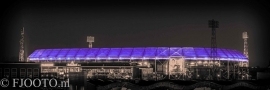 Feyenoord stadion 26 (Canvas 2cm frame)