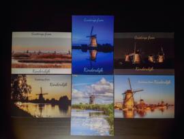 Kinderdijk (Ansichtkaarten set)