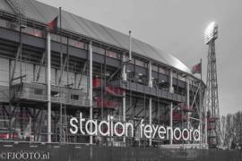 Feyenoord stadion 38 (Canvas 2cm frame)