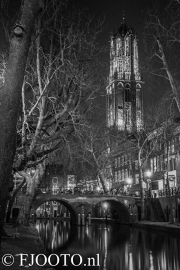 Utrecht Domtoren 18 (Canvas 2cm)