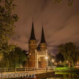 Delft Oostpoort 5 (Dibond)
