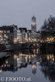Utrecht Domtoren 1 (Canvas 4cm)