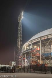Feyenoord stadion 44 (Canvas 2cm frame)