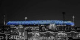 Feyenoord stadion 28 (Canvas 2cm frame)