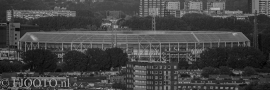 Feyenoord stadion 16 (Canvas 2cm frame)