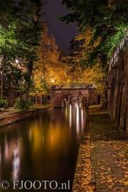Utrecht herfst 9 (Dibond)