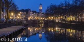 Utrecht Domtoren 2 (Canvas 2cm)