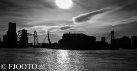 Rotterdam skyline panorama 7 (Canvas 4cm)